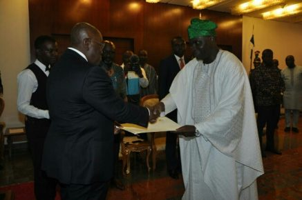 A glorious day for Ambassador Abikoye in Ghana