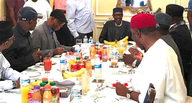 Between President Buhari and political pigs