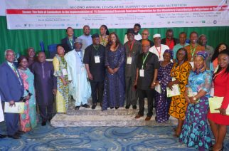 Nigerians stand for Universal Health Coverage and Nutrition
