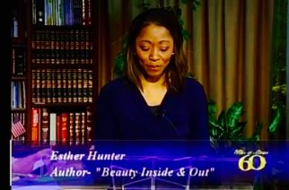 Prophetess Esther Hunter International Speaker outreach via television at The Hazen's TV Network. Photo is courtesy of 3V Women in Leadership and advertisement by The Hazen's TV Network Ohio, USA.