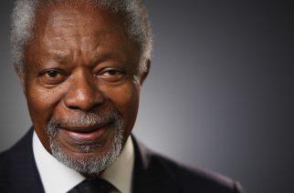 Kofi Annan: Erin wo