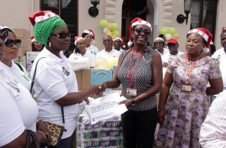 Spouse of Nigerian Ambassador to Ghana donates to prison, secures release of inmates