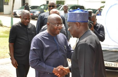 Ghanaian President Condoles Nigeria, vice visits High Commission in Ghana
