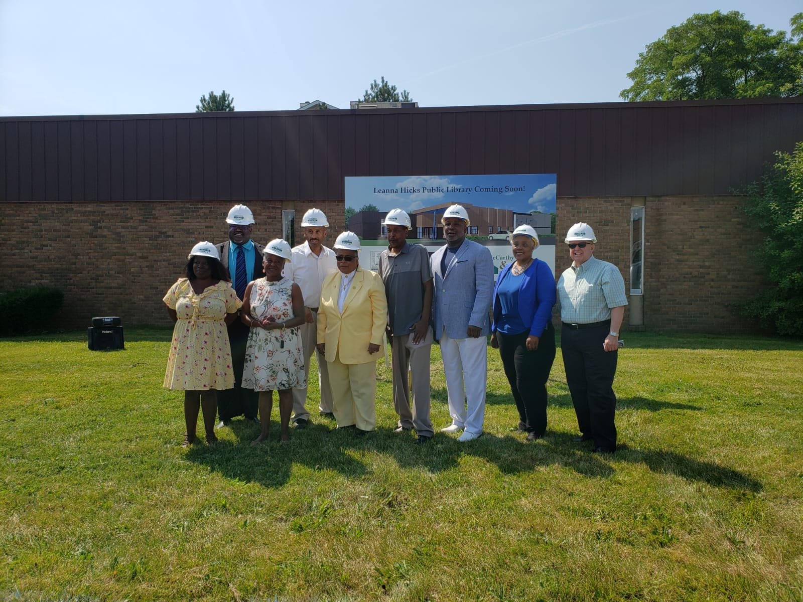 Inkster's long awaited new library breaks ground