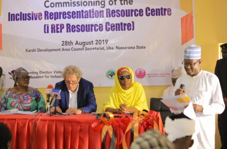 Hope for women and physically challenged as Inclusive Centre takes off in Nigeria