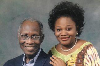 Ambassador Omotayo and spouse, Bola