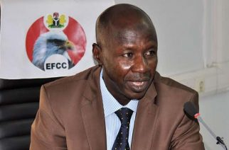 Acting Chairman of Economic and Finance Crimes Commission, Ibrahim  Magu