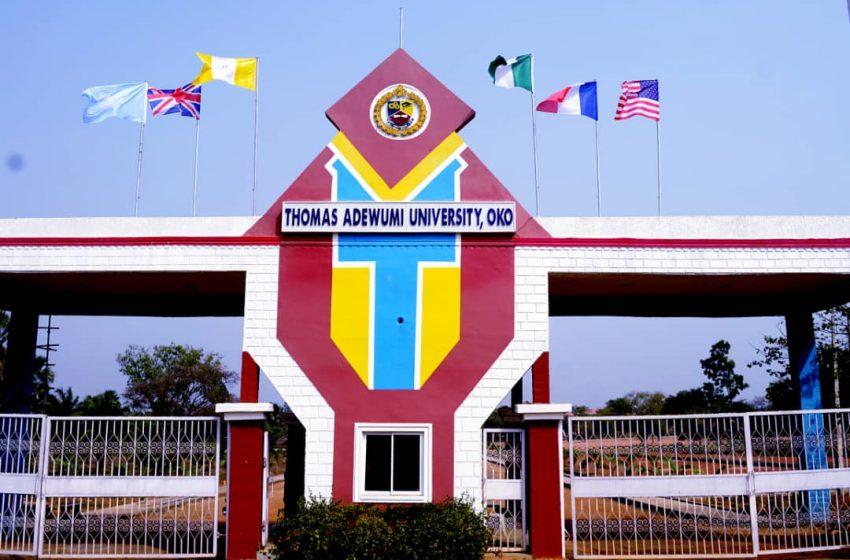 Thomas Adewumi University, Oko resumes May 16