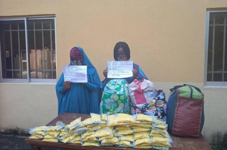 How two drug traffickers disguised in hijab were arrested