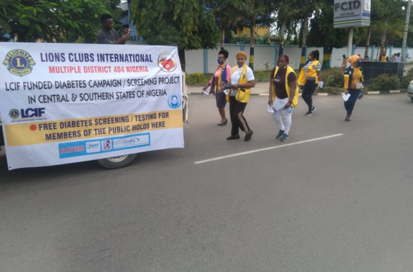 When Lions Clubs International embarked on free diabetes screening