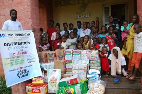 'May Foundation out to put smiles on the faces of women and children'