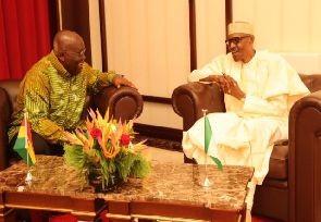 Flash of President Akufo-Addo's  visit to Nigeria