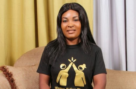 Inspired by African women to do humanitarian work