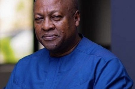 Time to rescue Ghana is now, says former President John Mahama