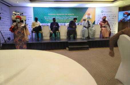 Inside Nigeria's Ministry of Health, Media Executives meeting